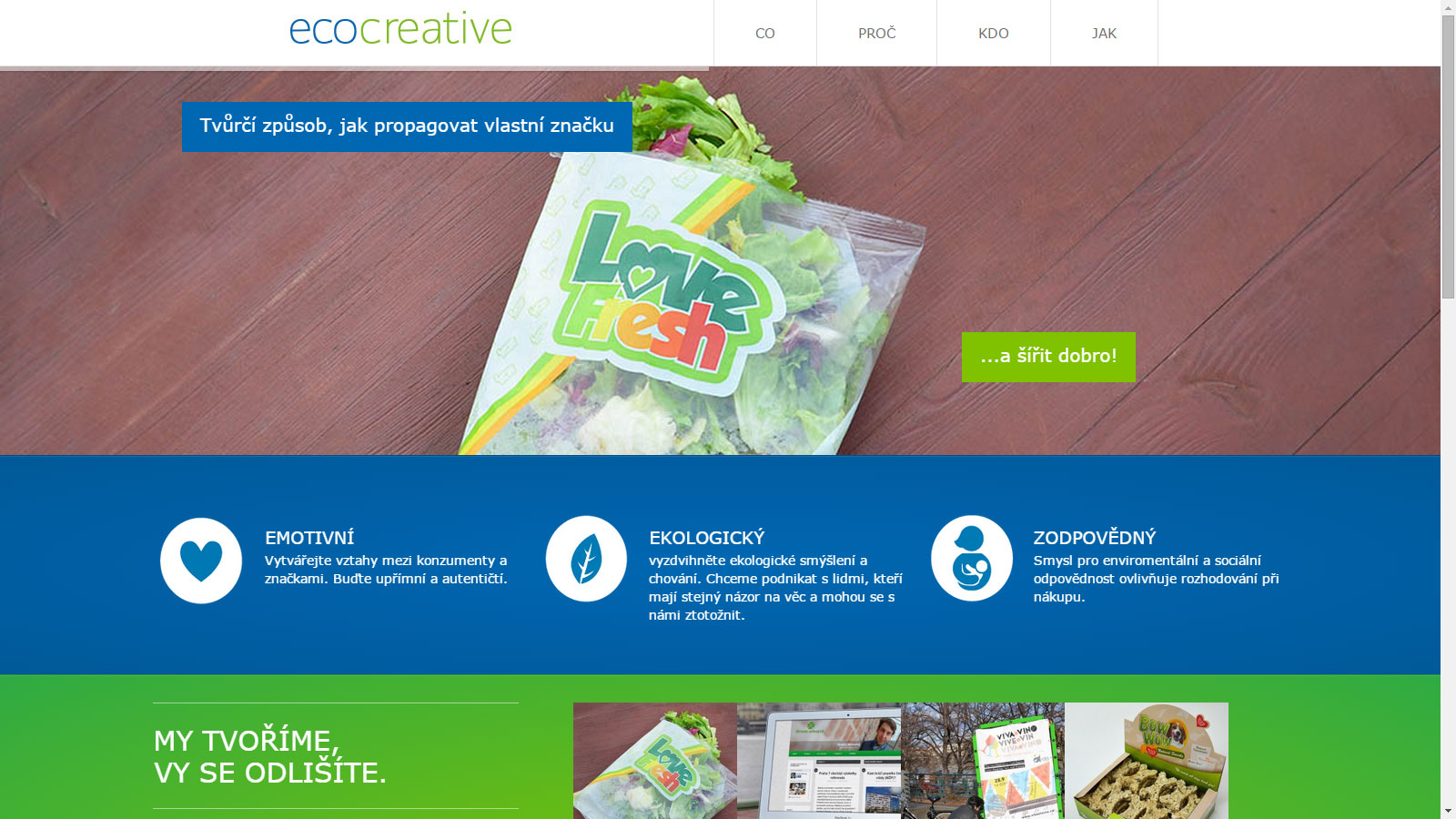 Image - Evocreative goes green