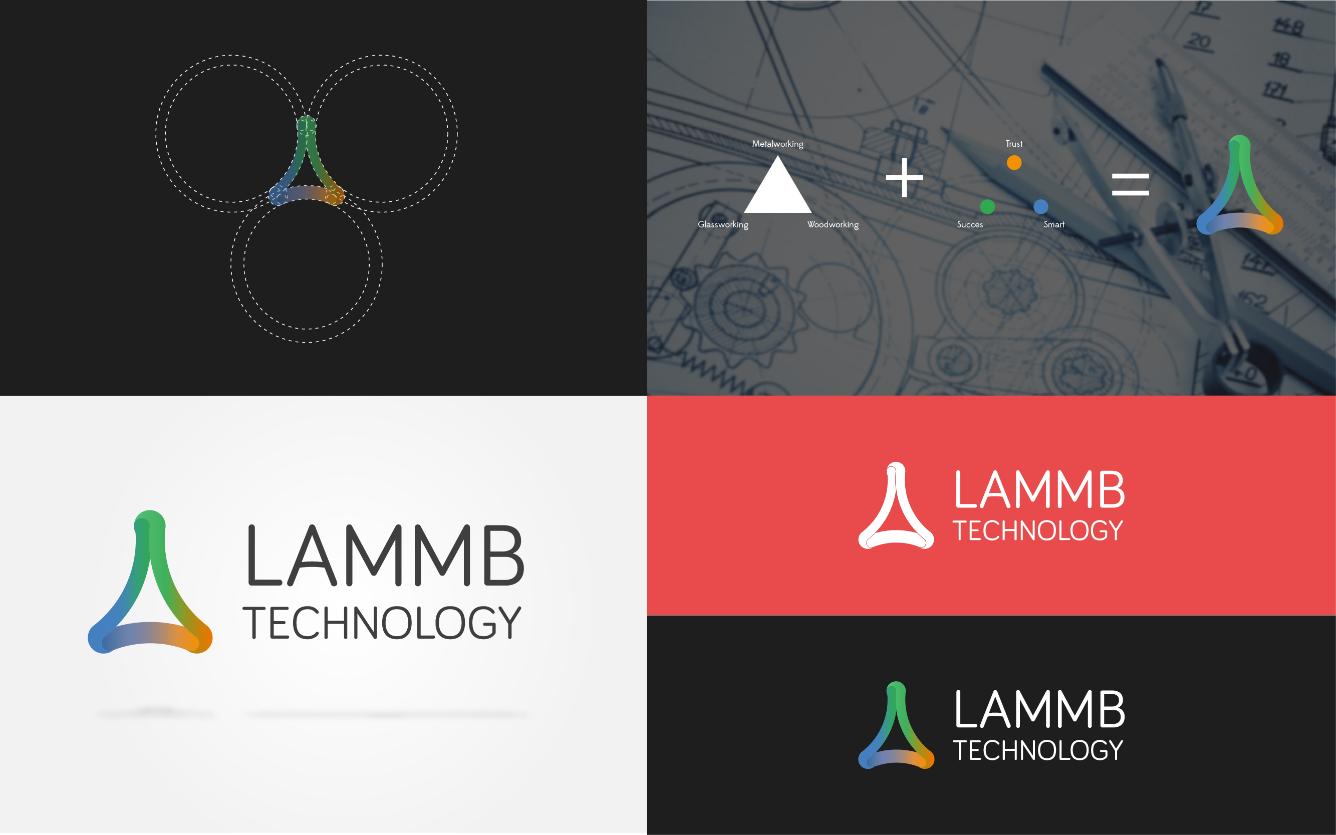 logo design laamb company evocreative